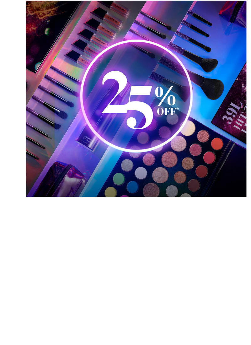 25% off Morphe holiday collection