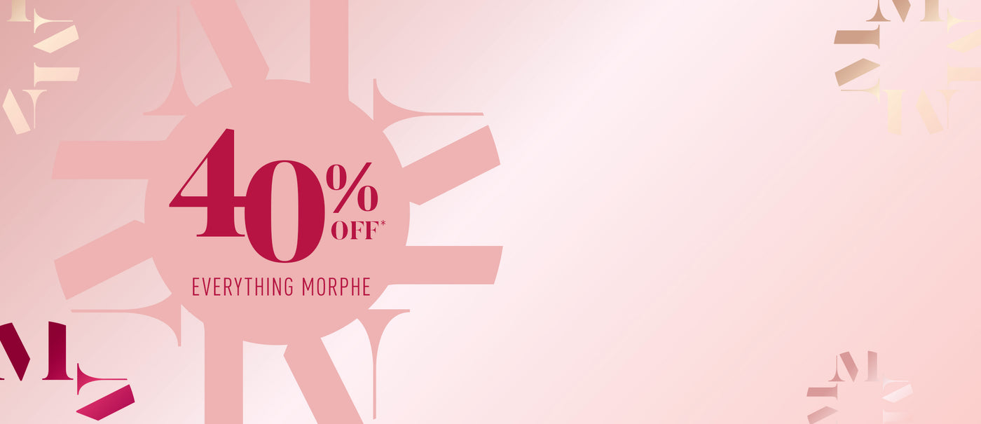 40% OFF Everything Morphe