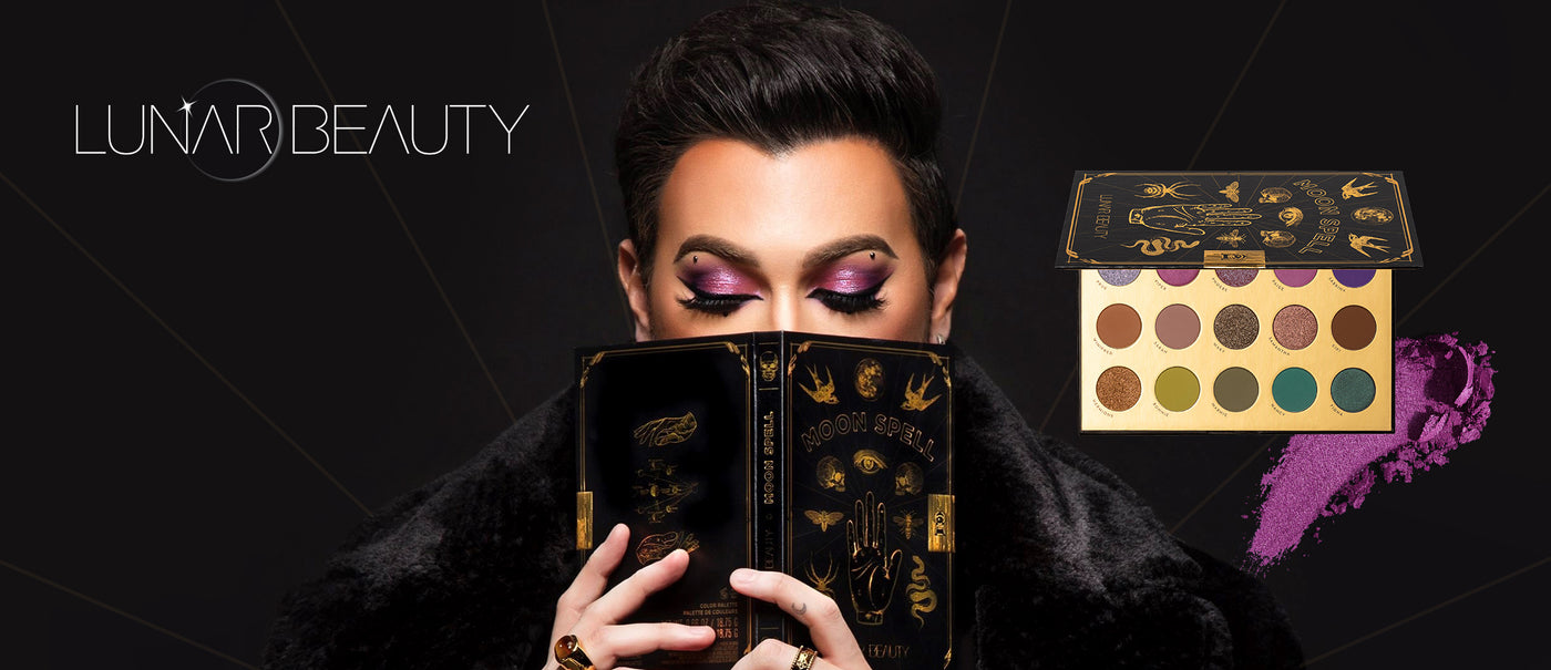 Manny MUA with Lunar Beauty Moon Spell Color Palette