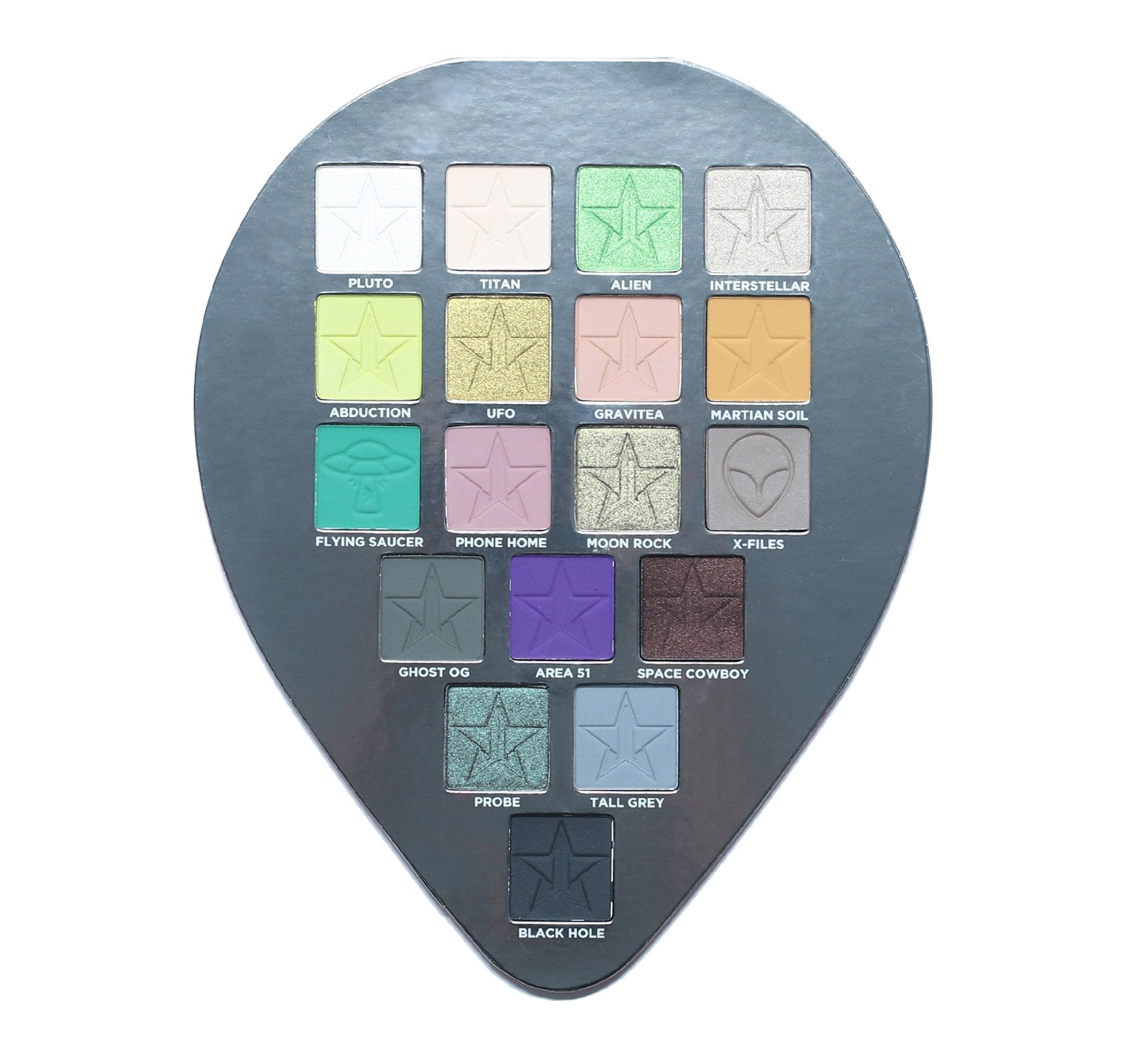 ALIEN EYESHADOW PALETTE, view larger image