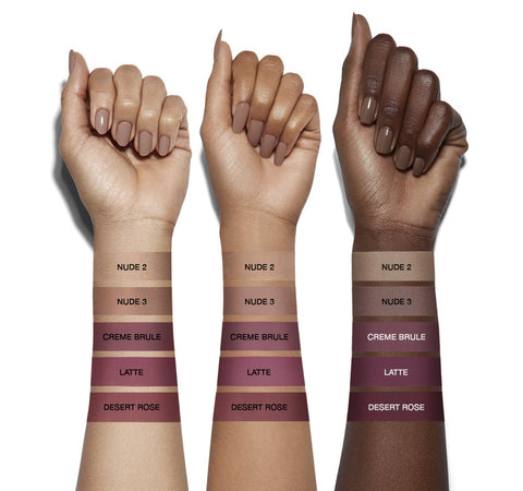 COLORFIX 24-HOUR CREAM COLOR MATTES - CRÈME BRULEE ARM SWATCHES