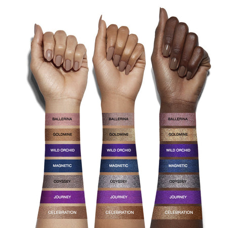 COLORFIX 24-HOUR CREAM COLOR METALLIC - ODYSSEY ARM SWATCHES