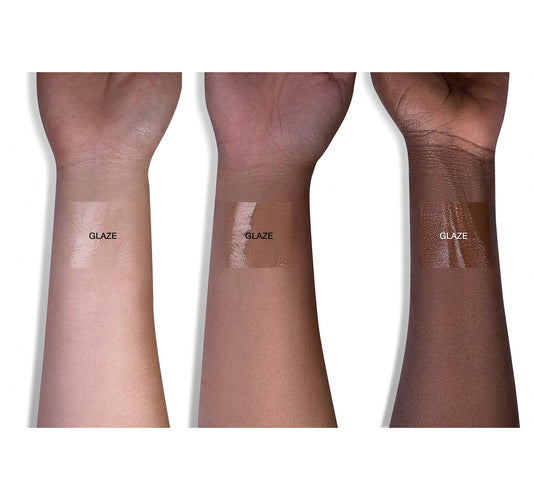COLORFIX 24-HOUR CREAM COLOR GLAZE - CLEAR ARM SWATCHES