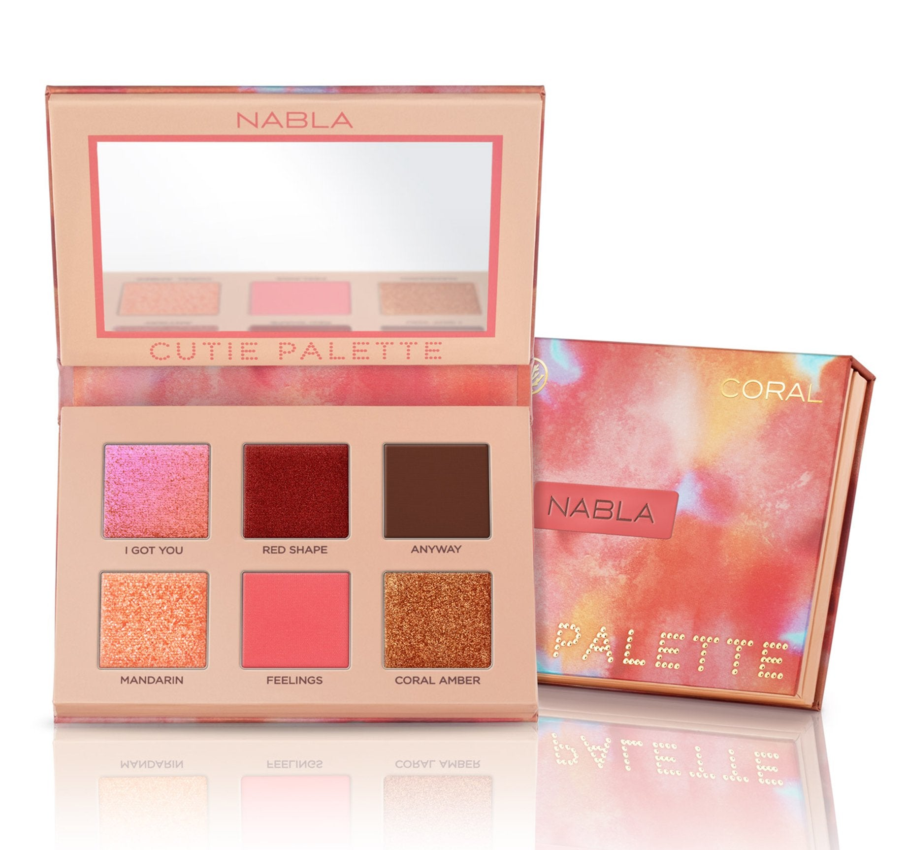 CUTIE PALETTE™ - CORAL, view larger image