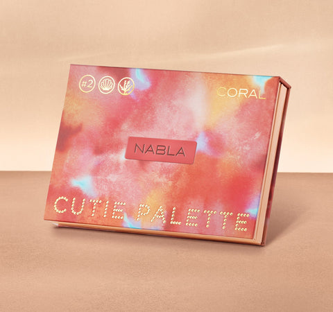 CUTIE PALETTE™ - CORAL PACKAGING