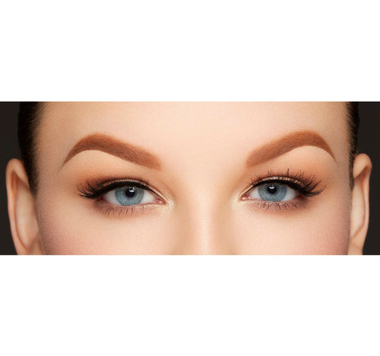 ARCH OBSESSIONS BROW KIT - ALMOND ON MODEL