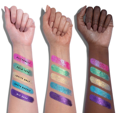 24A ARTIST PASS ARTISTRY PALETTE ARM SWATCHES