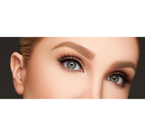 ARCH OBSESSIONS BROW KIT - BISCOTTI ON MODEL