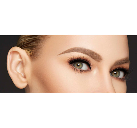 ARCH OBSESSIONS BROW KIT - HAZELNUT ON MODEL