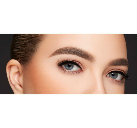ARCH OBSESSIONS BROW KIT - LATTE ON MODEL