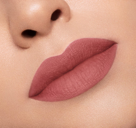 MATTE LIPSTICK - FLING ON MODEL