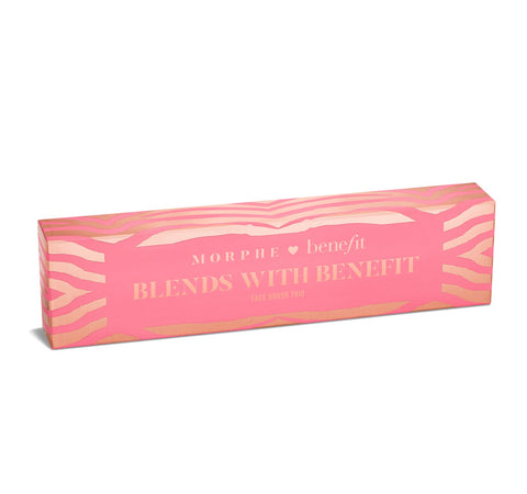 BLENDS WITH BENEFIT FACE BRUSH TRIO PACKAGING