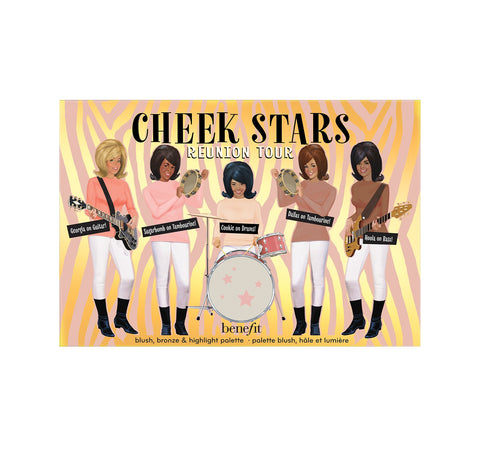 CHEEK STARS REUNION TOUR PALETTE PACKAGING