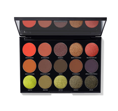 35N - 35 COLOR MATTE EYESHADOW PALETTE