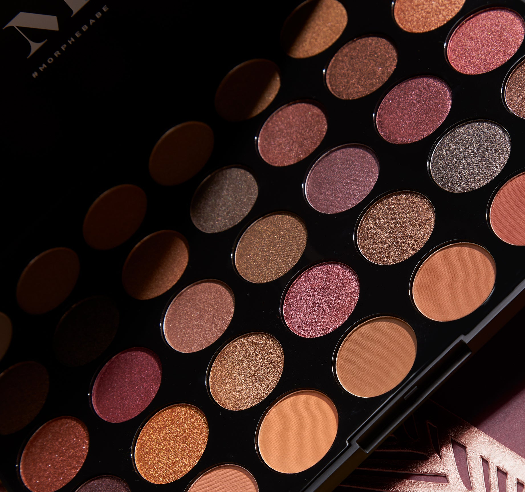 35f Fall Into Frost Eyeshadow Palette Morphe Us Lt Pro Naturally Glam Eye Shadow