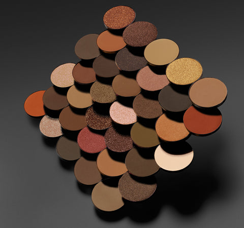35O NATURE GLOW ARTISTRY PALETTE SWATCHES