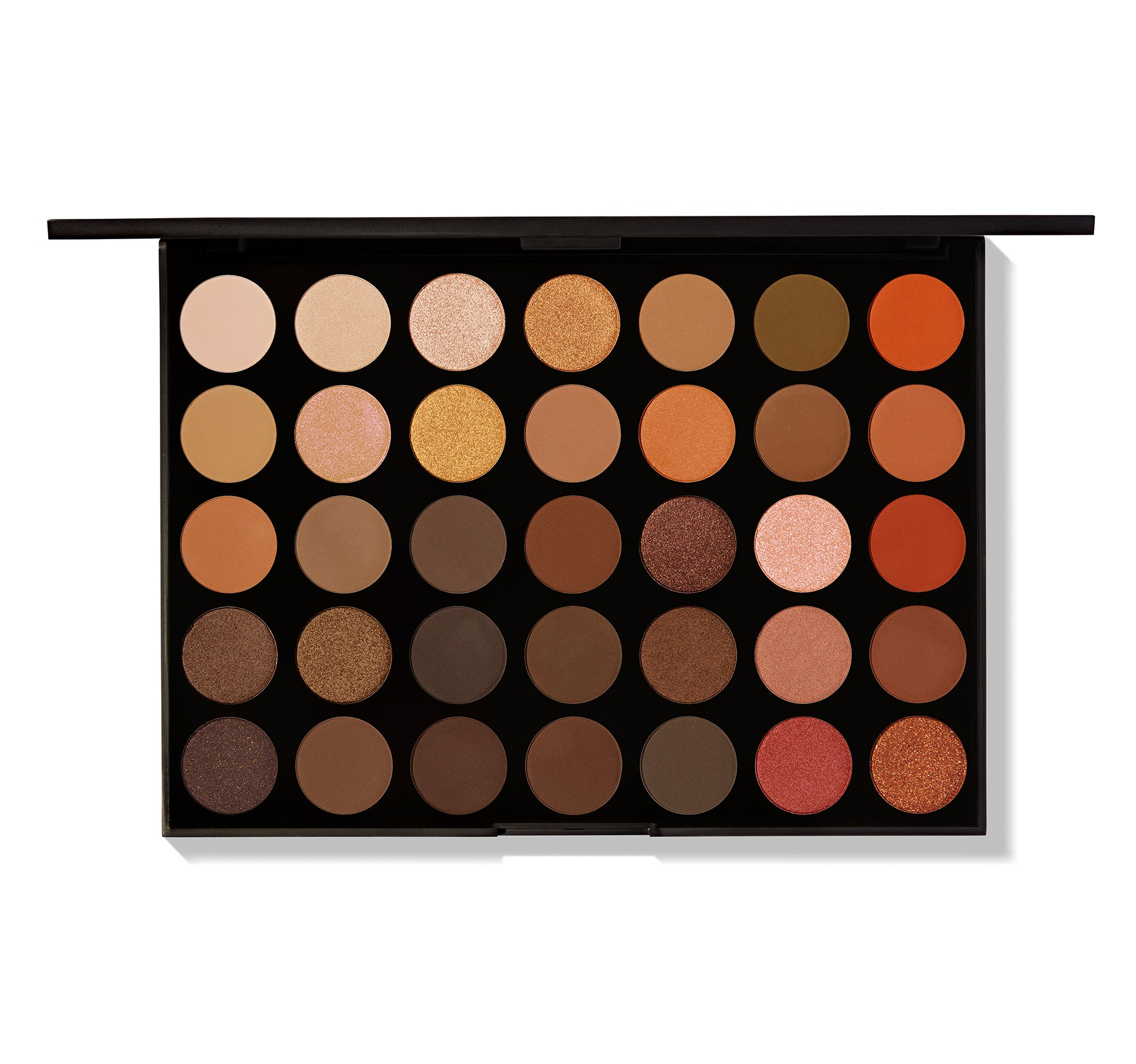 35o 35 Color Nature Glow Eyeshadow Palette Morphe Us