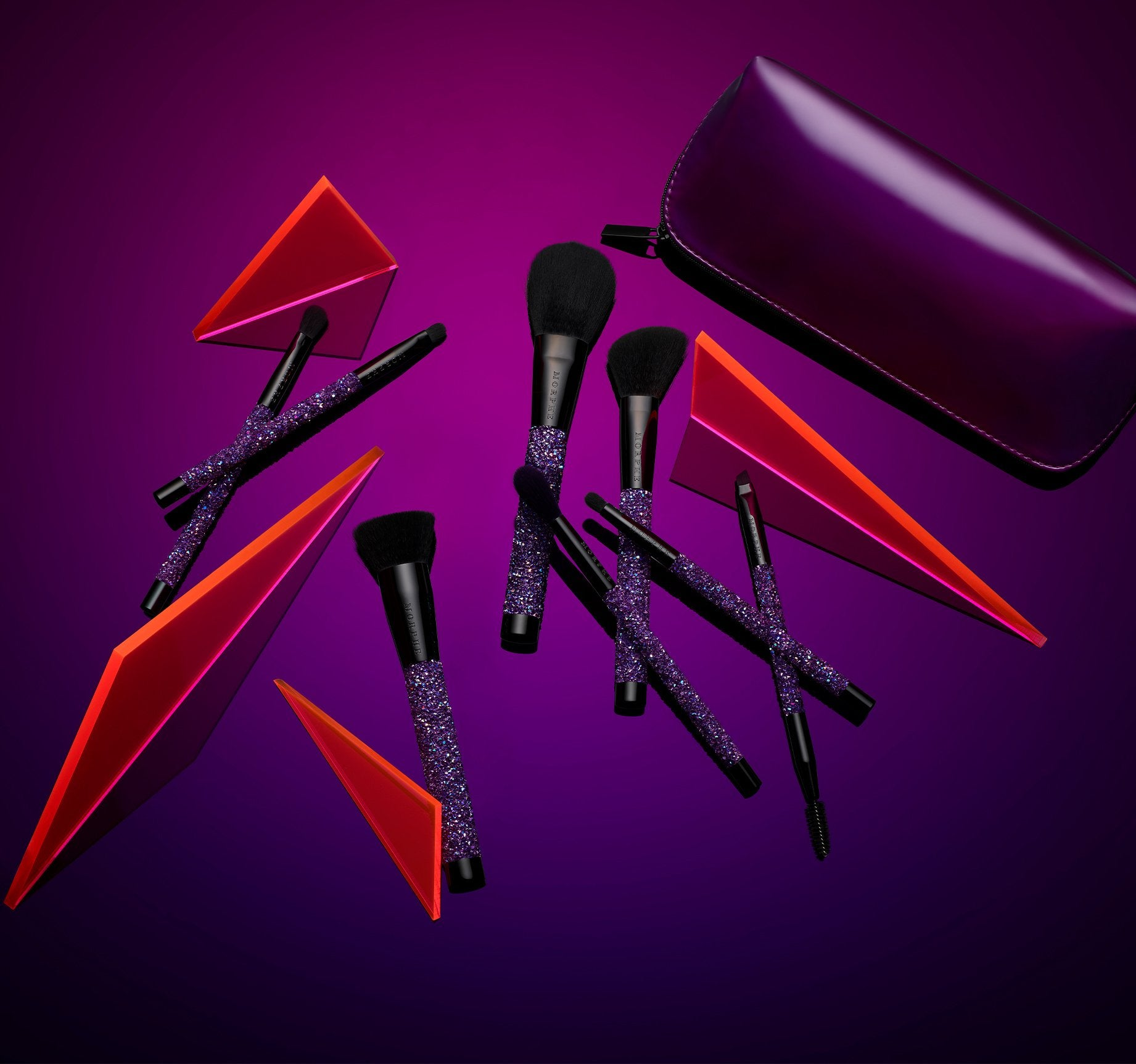 PUMP UP THE GLAM BRUSH COLLECTION, view larger image