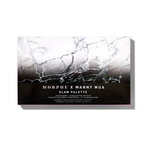 MORPHE X MANNY MUA GLAM PALETTE EYESHADOW + HIGHLIGHTER PALETTE