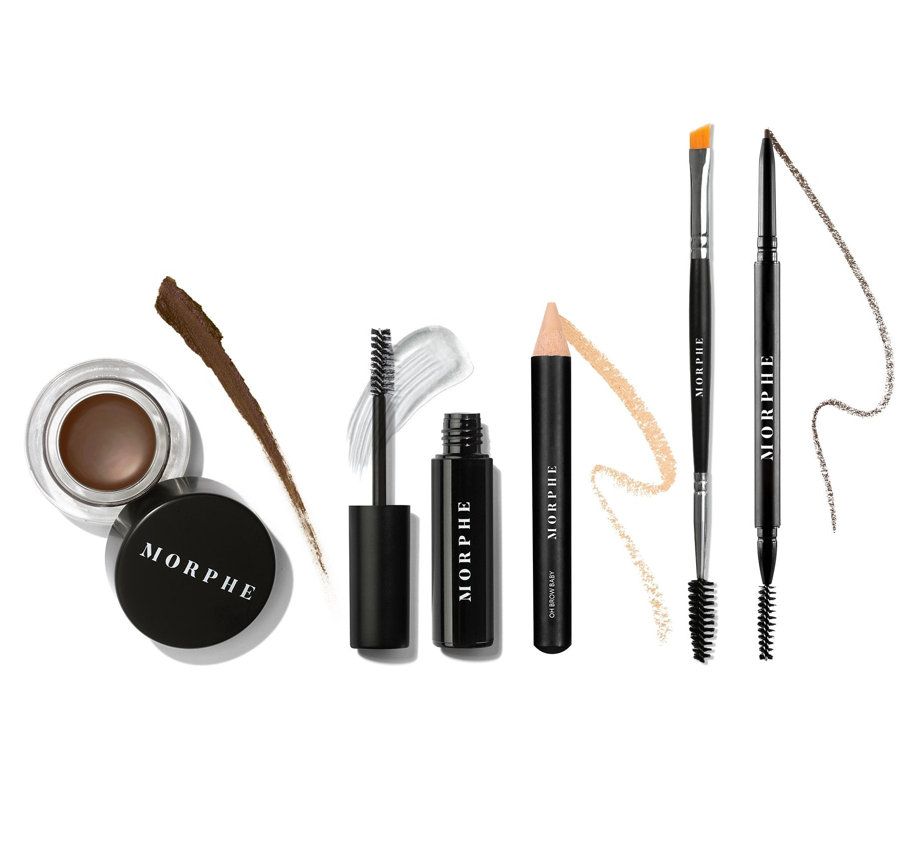 Arch Obsessions Brow Kit Mocha Morphe Us