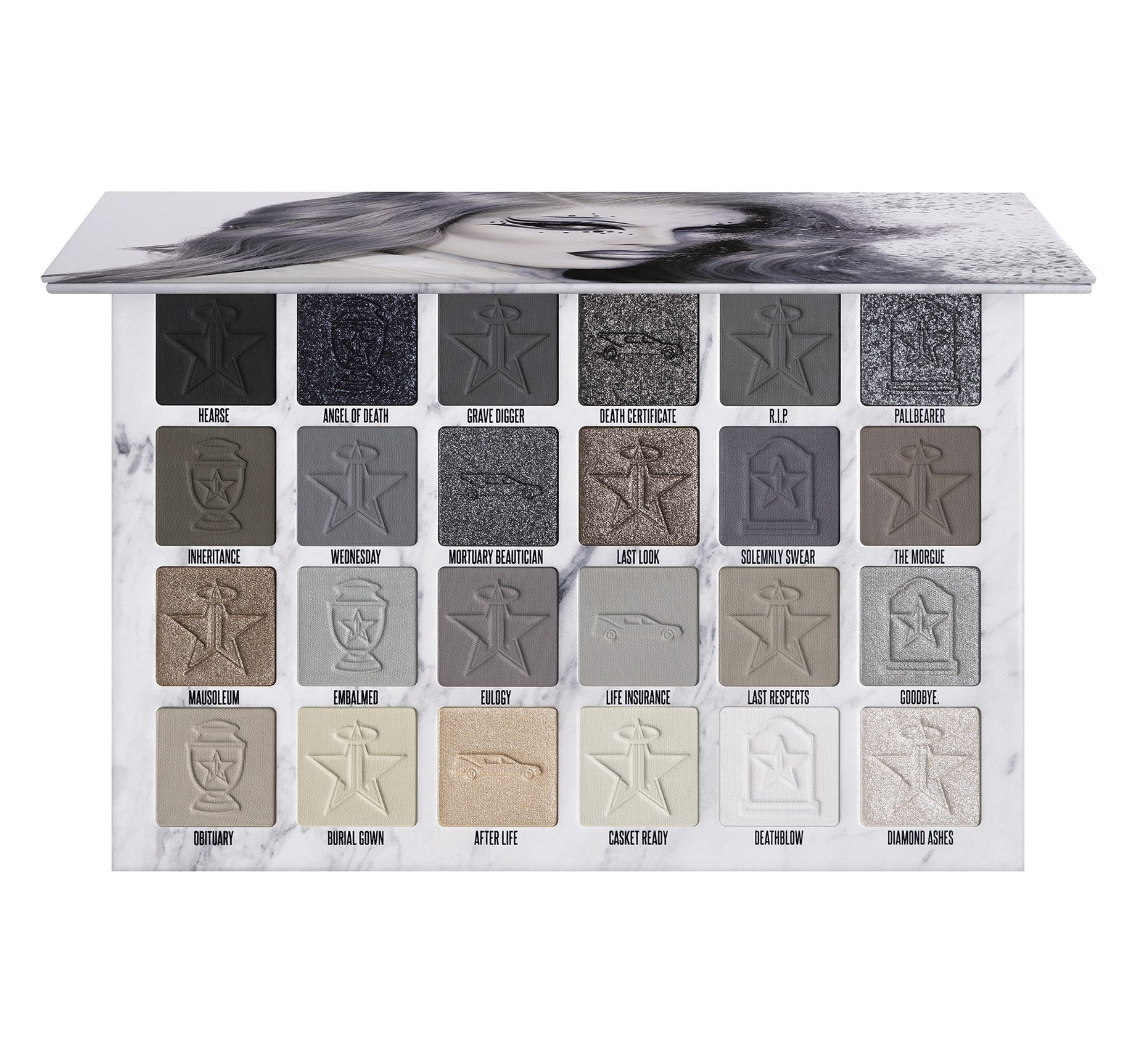 CREMATED EYESHADOW PALETTE, view larger image