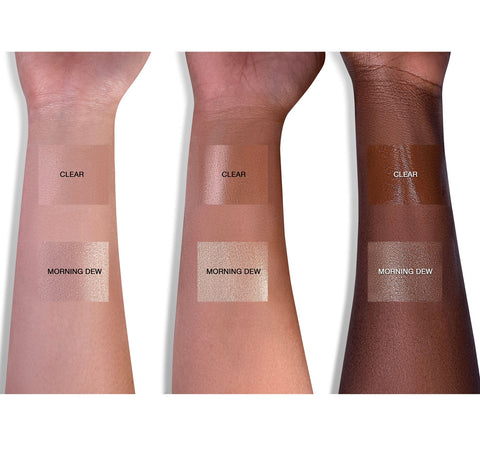 DEW WET BALM - CLEAR ARM SWATCHES