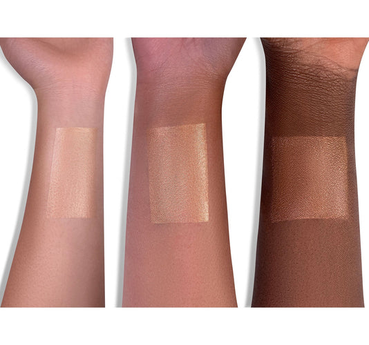 PRISM FX HYDRATING LOTION - PEACH ARM SWATCHES