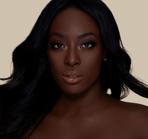 FLUIDITY FULL-COVERAGE FOUNDATION - F5.100 ON MODEL