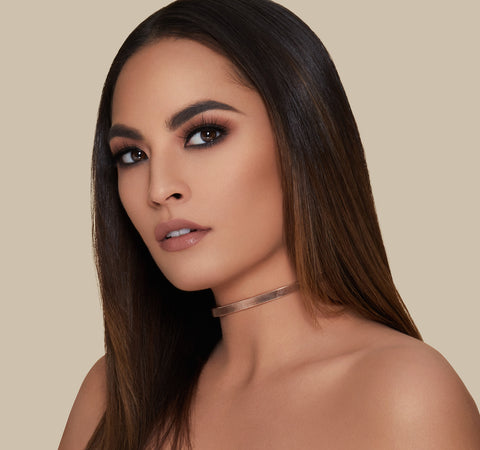FLUIDITY FULL-COVERAGE FOUNDATION - F2.70 ON MODEL