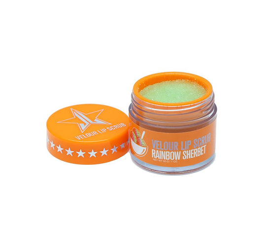 VELOUR LIP SCRUB - RAINBOW SHERBERT
