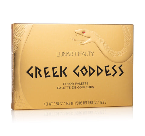 GREEK GODDESS COLOR PALETTE PACKAGING