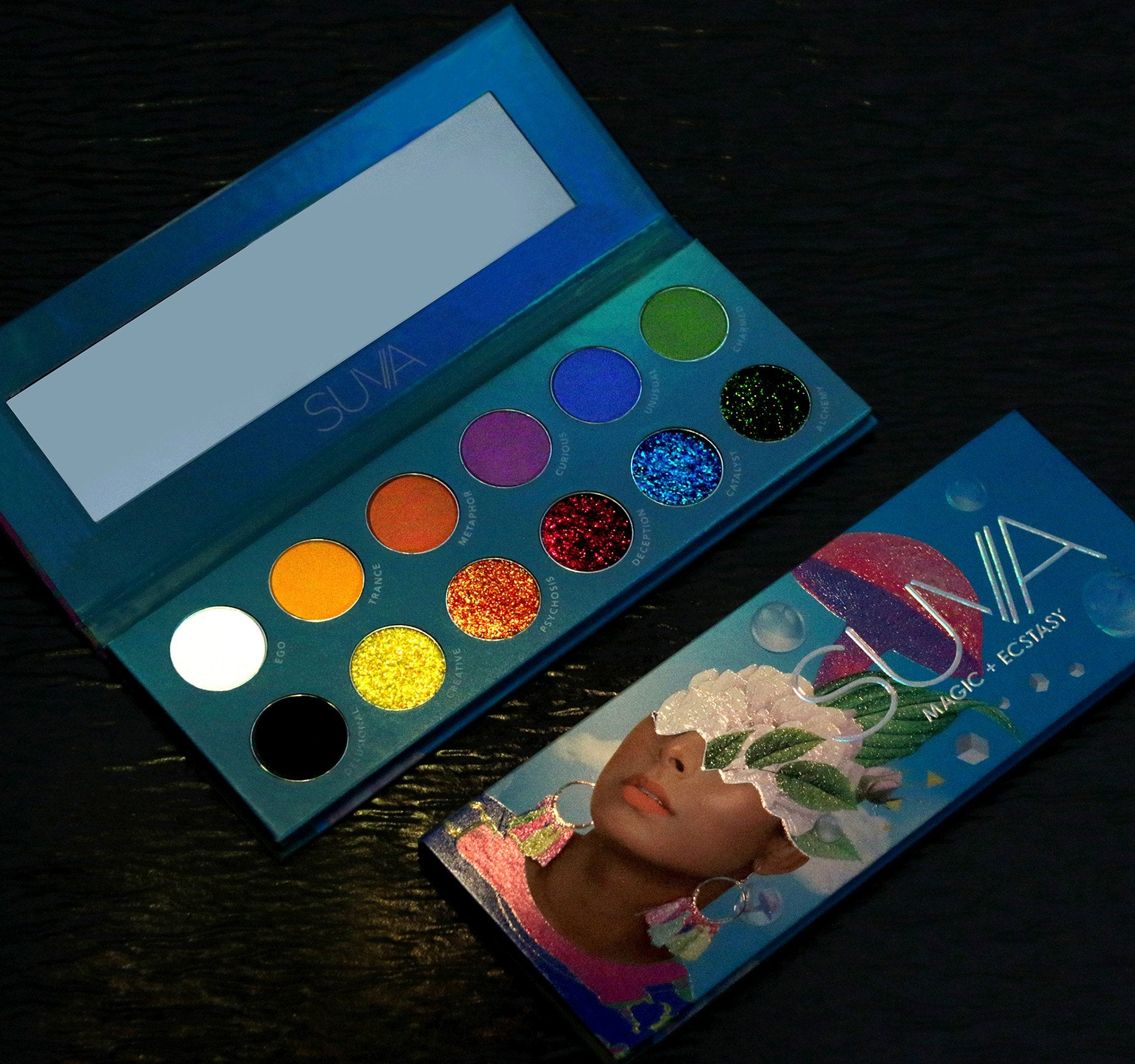 MAGIC + ECSTASY PRESSED PIGMENT PALETTE, view larger image