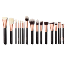STROKE OF LUXE 18-PIECE ROSE GOLD BRUSH SET