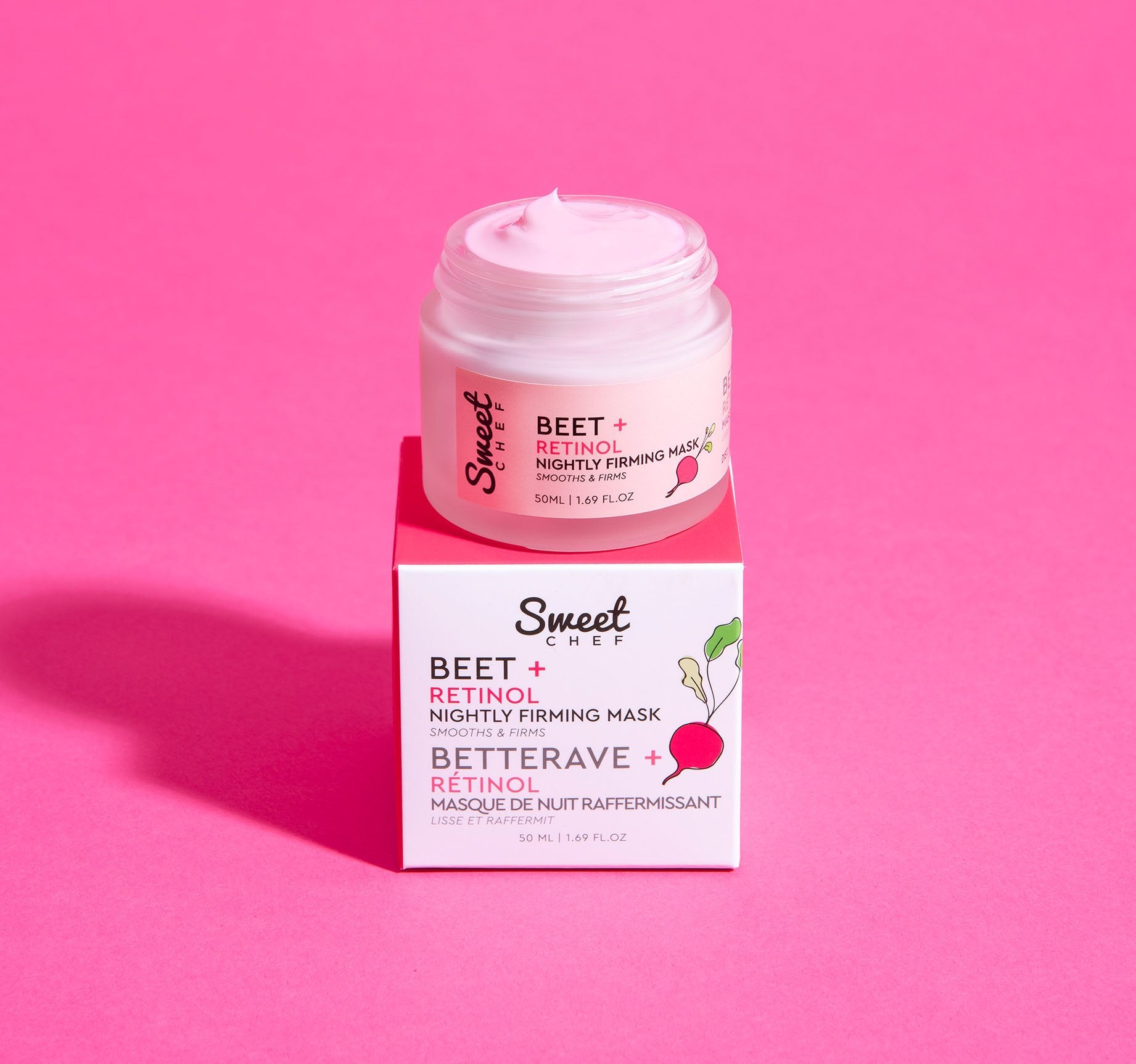 BEET + RETINOL NIGHTLY FIRMING MASK, view larger image