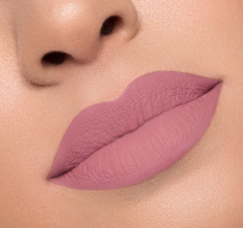 MATTE LIQUID LIPSTICK - VANITY ON MODEL