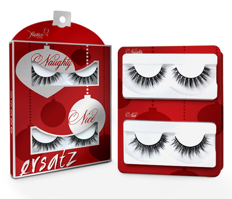 NAUGHTY & NICE - HOLIDAY 2 PACK FLUTTER LASHES