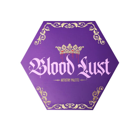BLOOD LUST ARTISTRY PALETTE PACKAGING