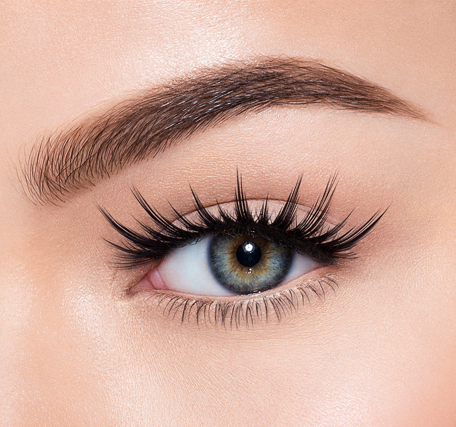 SECRETIVE-MORPHE PREMIUM LASHES ON MODEL, view larger image