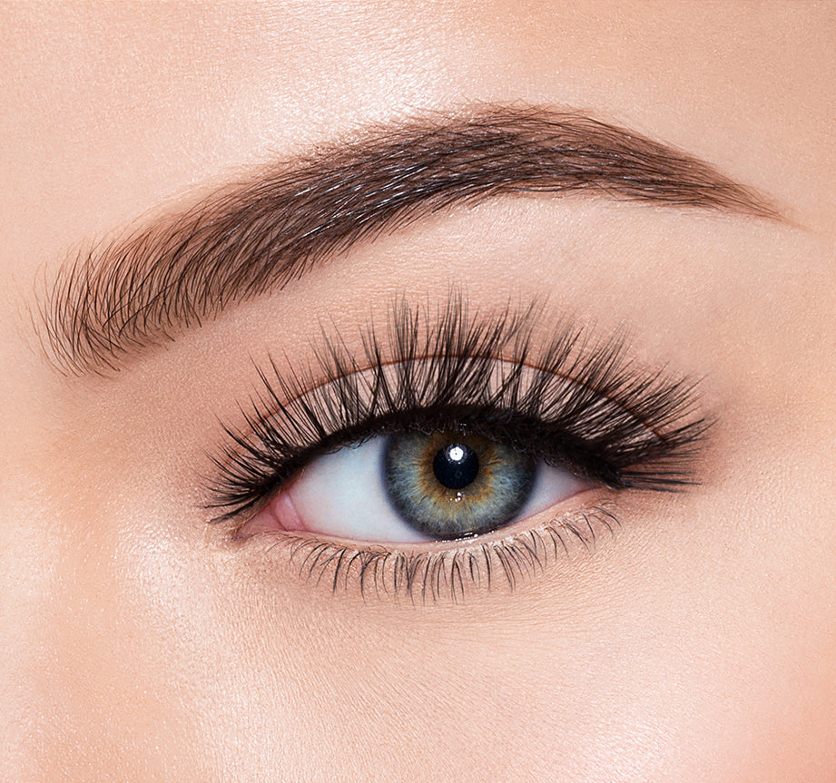 SOO CHARMING-MORPHE PREMIUM LASHES ON MODEL, view larger image