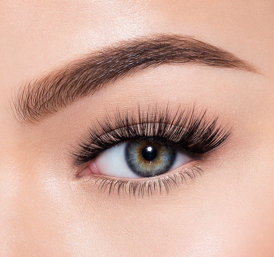 TEMPTATION-MORPHE PREMIUM LASHES ON MODEL, view larger image