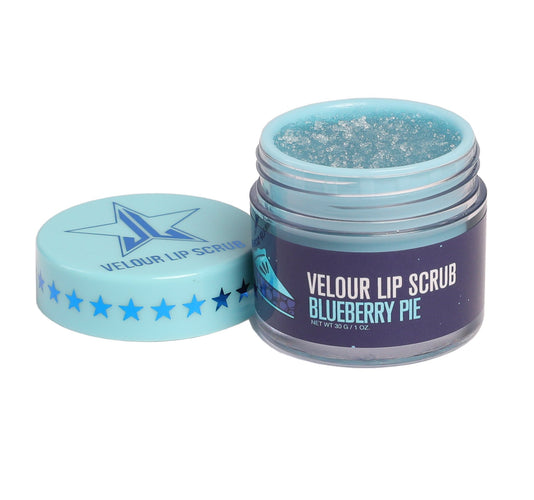 VELOUR LIP SCRUB - BLUEBERRY PIE
