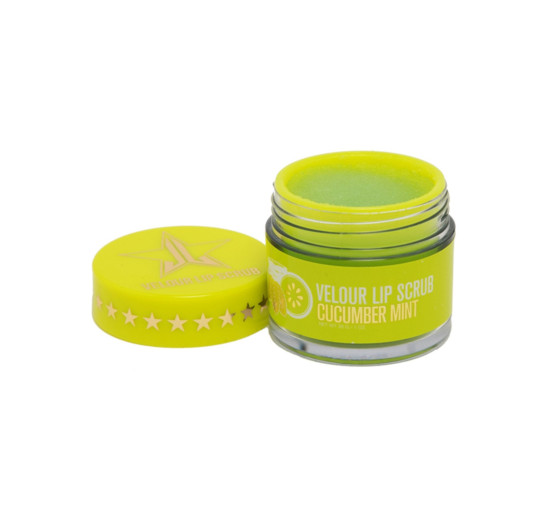 VELOUR LIP SCRUB - CUCUMBER MINT, view larger image