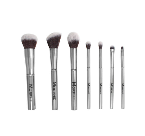 best eyeshadow brushes morphe. set 699 - the gun metal best eyeshadow brushes morphe