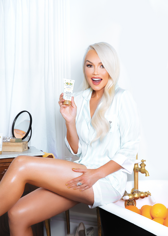 KANDEE JOHNSON WITH BUTTER ME ORANGE CREAMSICLE BODY BUTTER