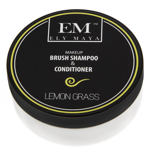 Ely Maya Cosmetics Brush Shampoo & Conditioner Lemon Grass Swirl