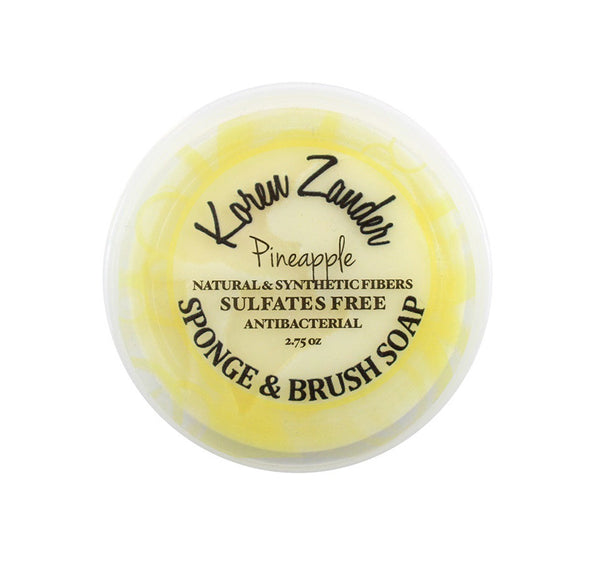 Koren Zander Pineapple Brush Soap