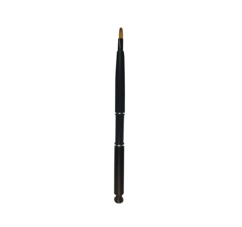 R106B - BLACK SABLE RETRACTABLE LIP BRUSH