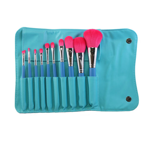 SET 680 - 10 PIECE VEGAN BRUSH SET
