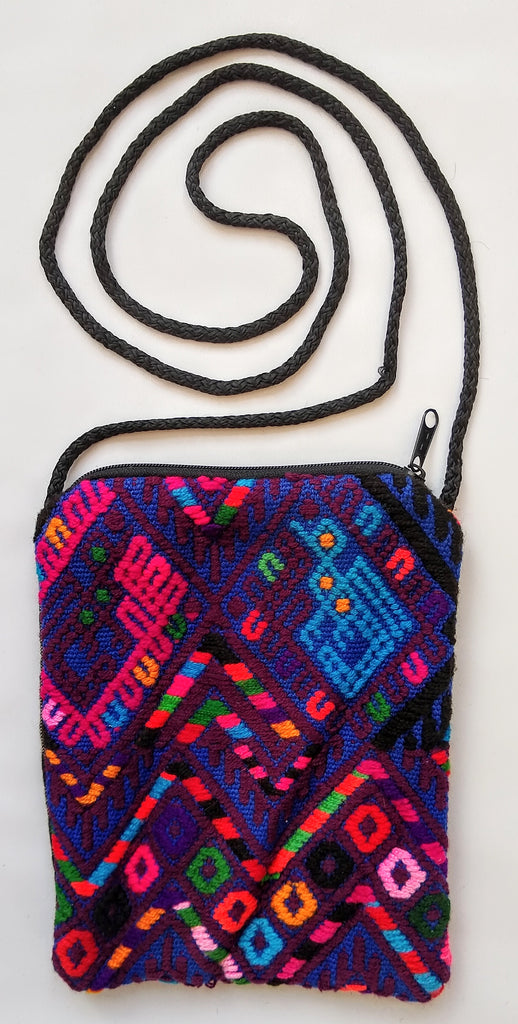 Handwoven Upcycled Huipil Bag - Guatemala