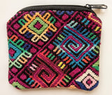 Bag from Guatemala - Small Zip Pouch